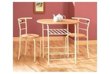 COMPACT DINING SET ,WOODEN ECONOMY FURNITURE SET(TABLE-CHAIRS)