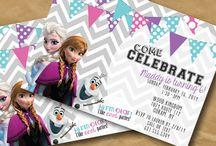 Kate's Frozen Birthday / Frozen Birthday Party Ideas / by Maria Filippone