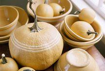 Yellow ware bowls and more / by Kara Kloke