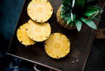 dvc; concept #2 / initiate design ideas - research focus: fruit, pineapple, exotic, vibrant, succulent