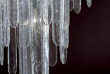 Chandeliers, Lamps & Lighting / High end handblown Venetian glass chandeliers and lighting