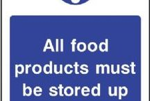 Food Processing & Hygiene signs / Whether you work in a staff canteen, kitchen, restaurant or general food production area, health and safety is an important part of your working day. We've produced a range of food hygiene signs to ensure a hygenic environment and a safe workplace for staff and customers alike.