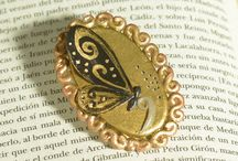 Gatofante Accessories / Handmade brooches, rings, necklaces...