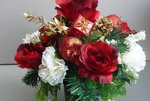 Christmas Flower Ideas!