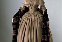 Suknie XIX wiek 1840-1849