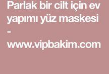 cilt maskeler