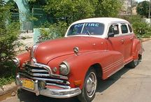Old American Cars in Cuba / These are REAL Cuban Vintage Cars. Photos were taken on Cuban streets by the Havanatur team in 2013. These Classic American Cars in Cuba were driving around Havana in 2013. Images are large enough to be your Cubanized screensaver. Visit http://havanatur.com for all your Cuba Travel Needs. Enjoy!