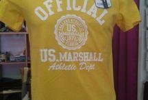 US MARSHALL / Camisetas US MARSHALL OFFICIAL Varios colores y tallas 15 € http://sestilamoda.palbin.com/p217739-camiseta-us-marshall.html
