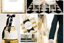 Wedding inspiration gold / All things wedding