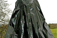 pvc rain cape