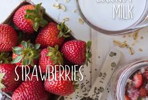 Fresh Fruit / Perfect in smoothies, snacks and even savory desserts, fruit can be the star of any of these recipes! Use your favorite seasonal fruit to instantly and naturally sweeten up any meal. From berries to apples and everything in between, there is sure to be a recipe featuring your faves!