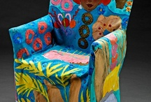 Funky upholstery