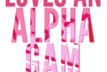 The Alpha Gamma Delta Girl / by Megan Nash