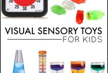 Visual sensory support / Ideas to help support the visual sense.