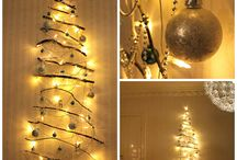 DIY Christmas Tree in Sweden / An easy and fun Christmas DIY that costs almost nothing but looks super posh.