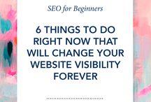 Website and blogging