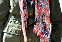 How to Wear a Scarf / The most versatile accessory in your closet! Find fresh ways to wear scarves. / by Nicole Feliciano