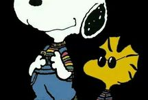 Snoopy and the  peanuts gang!