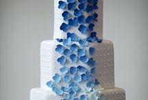 Algo azul / Una boda de color azul para la buena suerte. :)