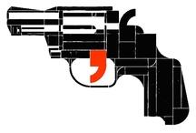 Guns \ / by JUURI Art
