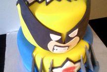 Wolverine birthday cakes