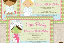 Cailin's pamper party