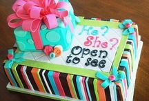 baby reveal party / by Tiffany McNett Fisher