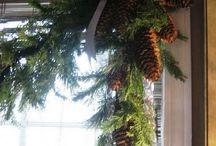 guirnalda de pinos
