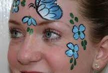 Face Paint Menu