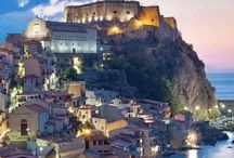 calabria. sicilia