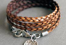 jewelry diy - leather