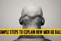 Dr. Rakesh Sood / Simple Steps to explain how men go Bald
