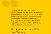 Happy Customers / At LeSi Signature Restaurant we love our customers! And when you're happy, we're happy!