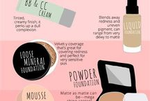 Beauty Hacks / Some makeup tips collected online