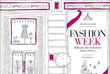 Fashion Week colouring book Zoe De Las Cases