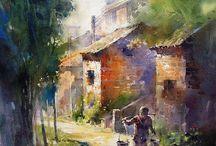 Nastrojowe obrazy / malarstwo