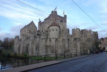 I landed to Ghent! / The first stop of my great road trip!