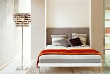 Murphy Bed/Guest Room Ideas / Space saving ideas for small guest room spaces