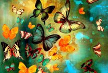 Butterflies art