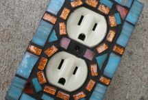 Mosaic outlet cover
