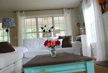 DIY Living Room Makeover / by DIY Refashion