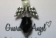 Guardian Angel Jewelry / Handcrafted Guardian Angel Pins