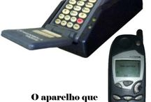 A evolução dos celulares