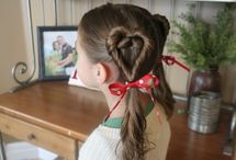 Cute girlie hairdos / by Sherry Carver