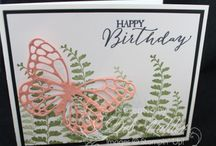 Stamping Up Butterfly Basics