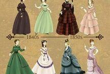 Costume féminin XIXème