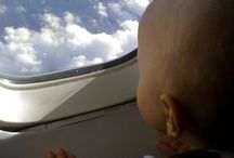 On the Road: Traveling with Kids / Everything you need to know about traveling with your littles, be they infants or older kids, from your first plane ride to long car trips.