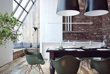 Obývák a podlaha / Nápady k bydlení