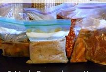 Recipes | Freezer Meals and Food Prep / freezer meals, food prep, menu planning, easy and delicious recipes to make ahead of time.