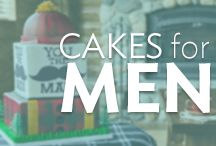 Cakes for Men / Make a manly cake for your favorite dude. Get ideas for birthday parties, Father's Day cakes, or any time you want to celebrate a special guy.